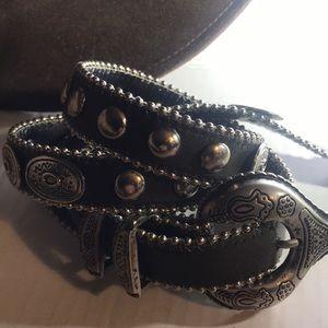Leatherock Concho Belt